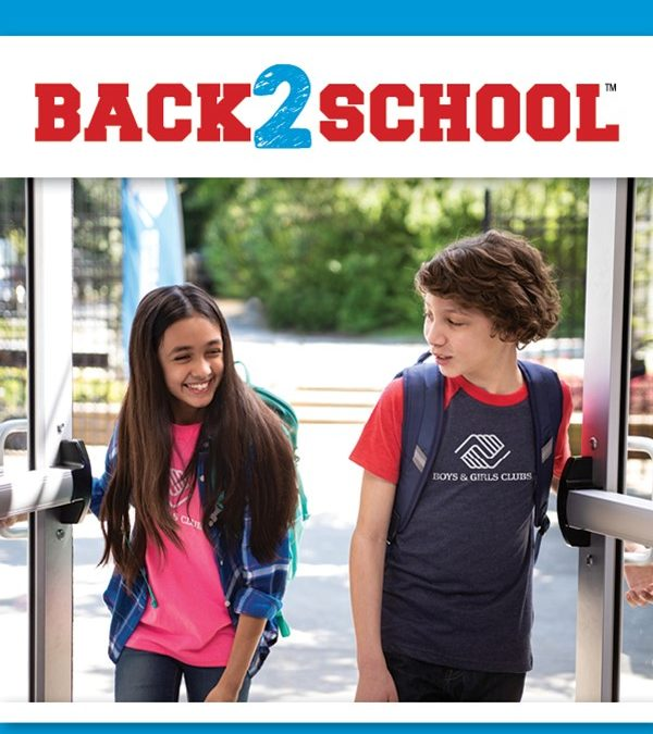 Back to School Donation Drives 2019